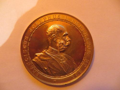 FRANCISCUS JOSEPHUS I. IMPERATOR ET REX 1892 Christlbauer Wien