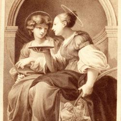 Parmeggianino - Parmigianino - Santa Lucia e Apolonia