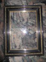 antike Rahmen 19. Jahrhundert - Schlagmetallfassung