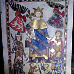 Codex Manesse - folia 10, König Wenzel II. von Böhmen