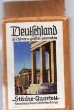 Alte und neue Bauten des Dritten Reiches , Nr. 501/6 Städtequartett