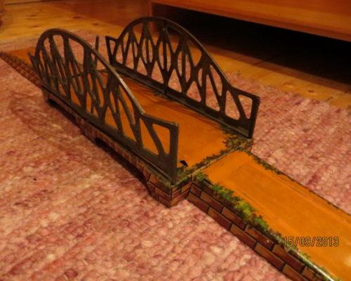 Bing Bogenbrücke Spur 1 - 3-teilige Bogen Bruecke