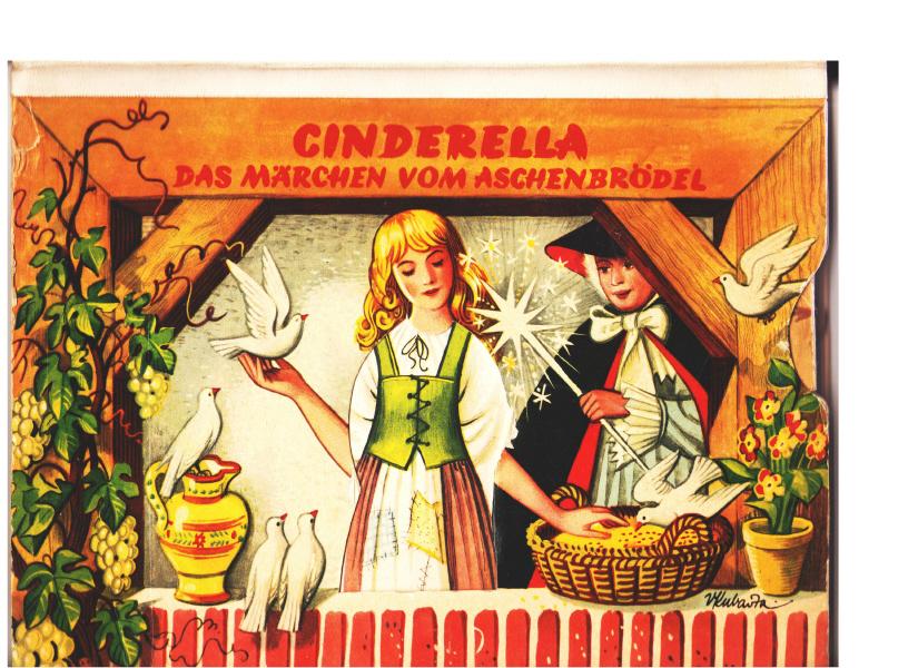 Cinderella -  Verlag: Carlsen., Hamburg,, 1960 ARTIA Prag