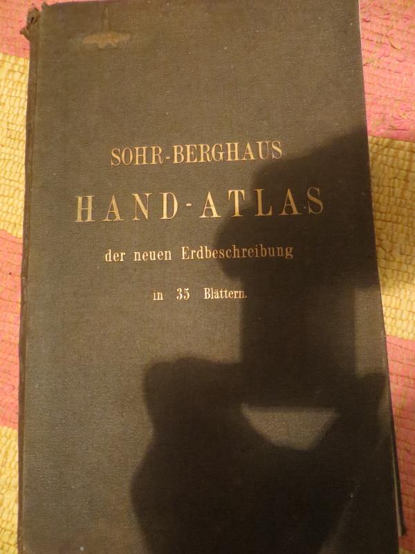 Sohr-Berghaus Hand-Atlas 1873