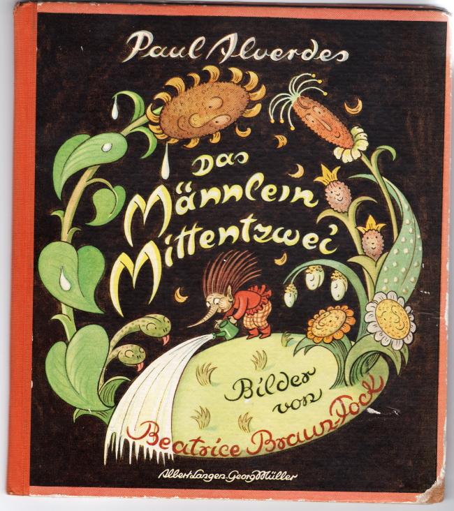 """""""Das Männlein Mittenzwei""""Paul Alverdes"""