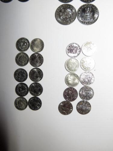 10 Groschen und 50 Groschen 1937