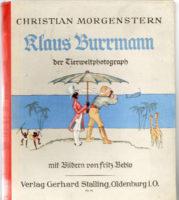 Klaus Burrmann der Tierweltphotograph -  Christian Morgenstern