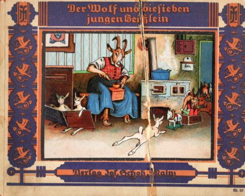 Scholz Verlag Wolf u 7 Geisslein