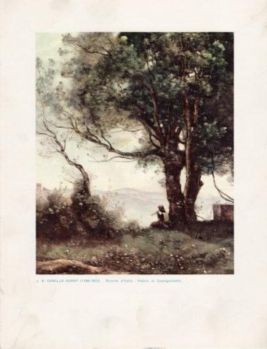 Camille Corot Veduta di Castelgandolfo