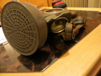 Gasmaske 2. Weltkrieg / gas mask World War II