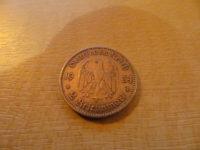 2 Reichsmark 1934 mit Datum