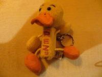 PEZ Spender Plüsch - gelbe Ente  / Yellow Duck PEZ Dispenser -