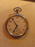 Taschenuhr Schaffhausen - Probus IWC Scafusia 0800 Silber Nr. 867007 Stempel