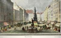 alte Stiche koloriert G. Baldi, Hablitschek , J.M.Kolb , H.W. Sculp