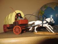 Planwagen TIMPO Toys - Postkutsche Timpo Toys