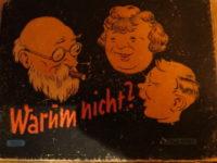 """Porst Spiel Nr. 26353 """"warum nicht"""" - Zeit Zeugnis von Zwangsverkauf 1938"""