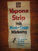 Vapona Strip - Shell Werbeplakat