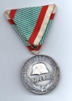 Pro Deo Et Patria - Ungarische Weltkriegs-Erinnerungsmedaille