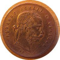 1 Florin 1868 Austria Ungarn - Silbermünze Österreich-Ungarn