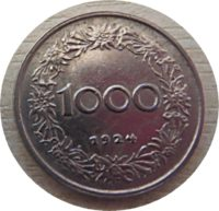 1000 Kronen 1924