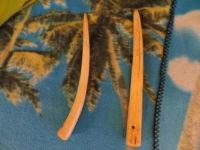 Spleißnagel Hohlspieker aus Hirschgeweih - rare Werkzeuge