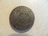 200 Reis 1901 Brasilien