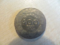 400 Reis 1940 Getúlio Vargas Brasilien