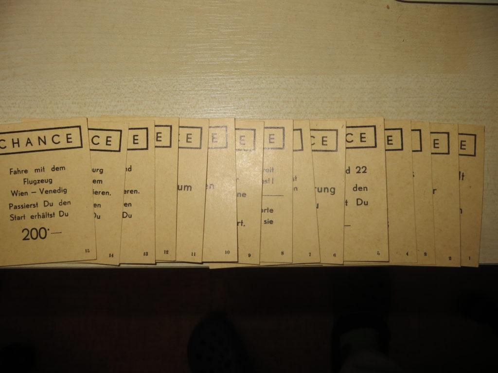"""Feld """"Chance"""" - 15 Karten"""