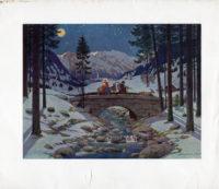 Weihnachtsbilder von Josef Madlener