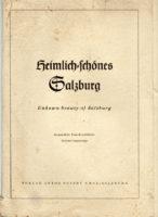heimlich schönes Salzburg - Verlag Pustet 22 Kunstdruck Blätter