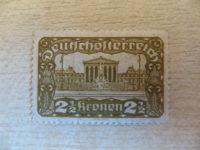 2 1/2 Kronen deutschoesterreich
