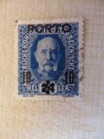 24 Heller 10 Porto Stempel 1916