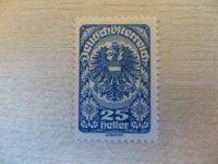 25 Heller blau ungestempelt