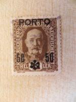42 Heller 50 Porto Stempel 1916