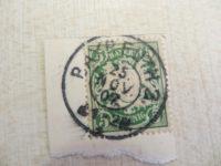 5 Pfennig Briefmarke 1907 Bayern