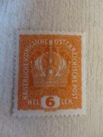 6 Heller Kaiserkrone orange