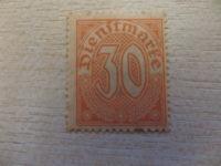 30 Pfennig Dienstmarke 1920
