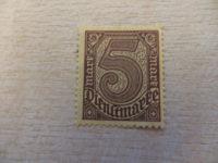 5 Mark Dienstmarke 1920