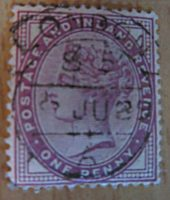 one Penny Lilac Großbritannien