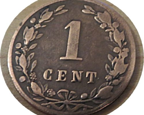 1 Cent 1881 Niederlande