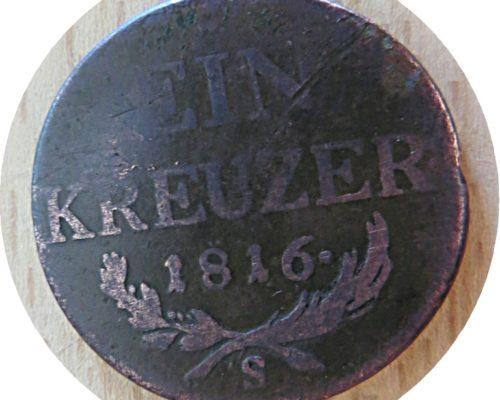 1 Kreuzer 1816