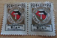 2 Heller Deutschböhmen 1913 nicht verausgabte Briefmarke