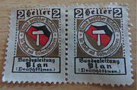 2 Heller Deutschböhmen 1913 - Propaganda Marke  von 1913