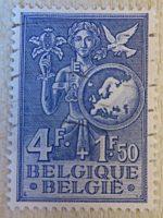 4F+1,50 Belgique vereintes Europa 1953