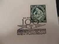 5+2 Groschen Österreich Winterhilfe Stempel 23. Nov 1937
