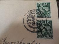 Ersttags-Sonderstempel  6+4 Pfennig 5. Jahrestag der Machtergreifung durch Adolf Hitler