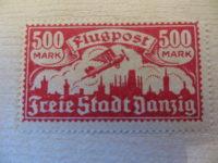 500 Mark Flugpost Freistadt Danzig