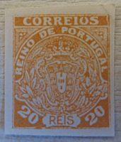 Portugal Briefmarken nicht verausgabt 20 REIS