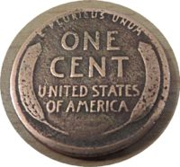 one Cent 1918 USA