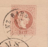 2 Kreuzer braun Franz Josef II